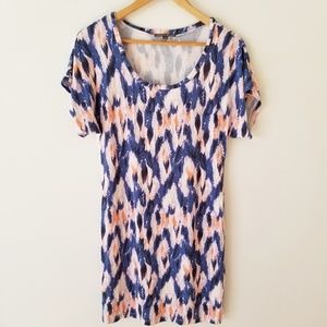 THREADS 4 THOUGHT tie dye stretchy short dress